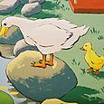 Mural Detail, Duck