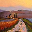 Road, Tuscany