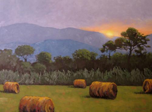 Hayrolls & Mountains