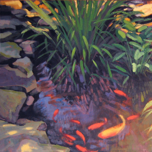 Koi and Grasses